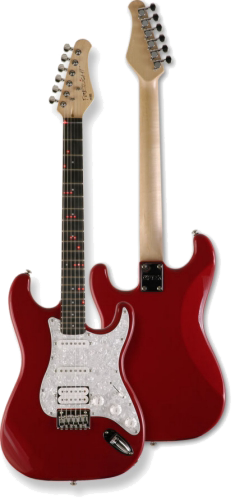Fretlight FG-421, Red